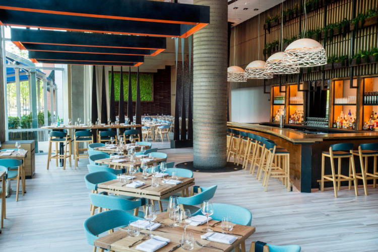 Halifax Located In The W Hotel Hoboken Features Northeastern Farm And Coastal Cuisine A Beautiful Setting On S Of Hudson River