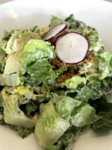 Caesar Salad anchovy grana padano, breadcrumbs