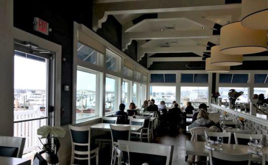 Beach Tavern windows view