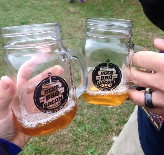 BBB mason jar mugs