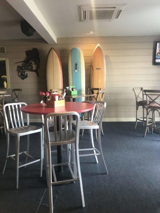 Dive! Coastal Bar & Food Joint, interior, Gabrielle Garofalo, Jersey Bites