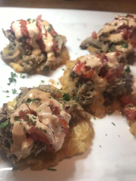 Dive! Coastal Bar & Food Joint, Pulled pork plantains, Gabrielle Garofalo, Jersey Bites