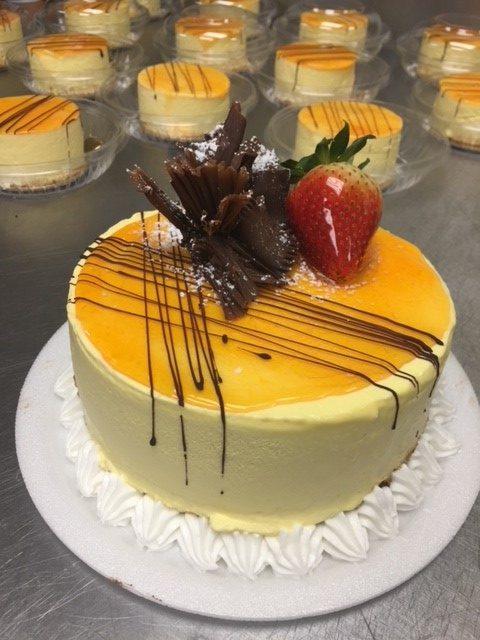 Mango cheesecake, Gluten Free Gloriously, Abigail Lyon