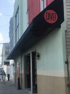 Dive! Coastal Bar & Food Joint, Gabrielle Garofalo, Jersey Bites