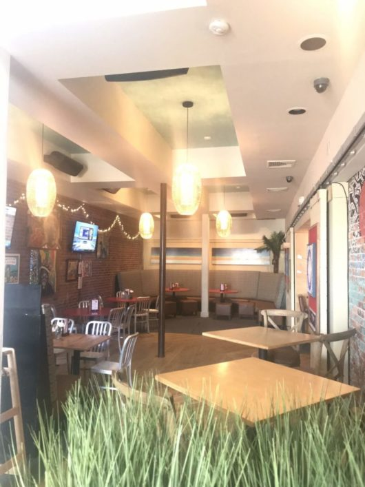 Dive! Coastal Bar & Food Joint, dining space, Gabrielle Garofalo, Jersey Bites