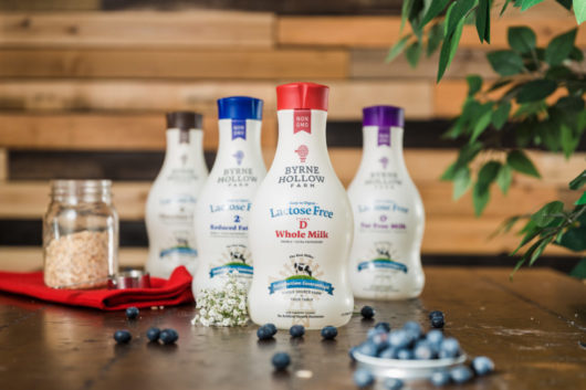 Byrne Hollow Farm Lactose Free Milks