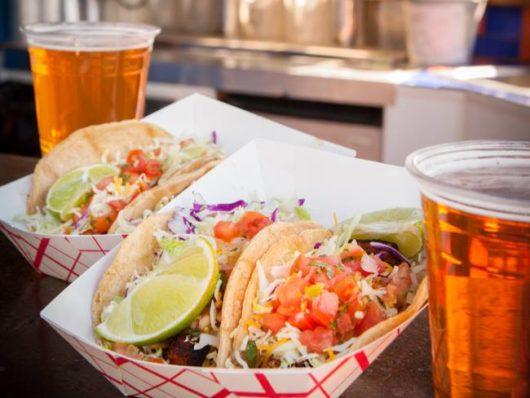 Tacos and Beer at TacoPalooza