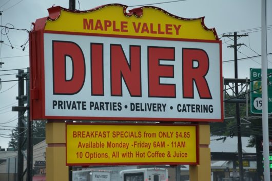 Maple Valley Diner, Michael Gabriele, Diners