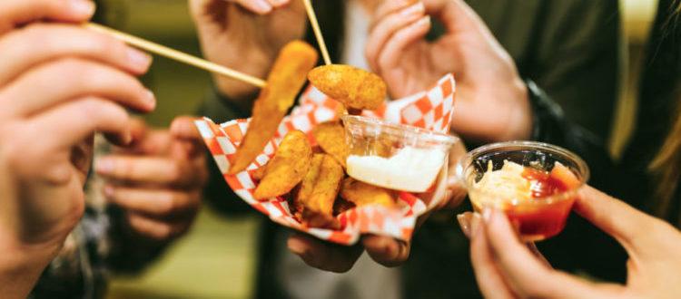 Sharing Fries