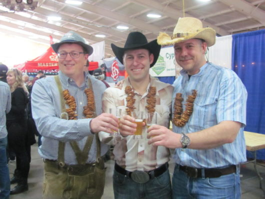 Guys in Cowboy Hats at Big Brew Beer Fest Morristown Oct 6