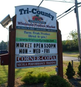 Tri-County Coop Sign