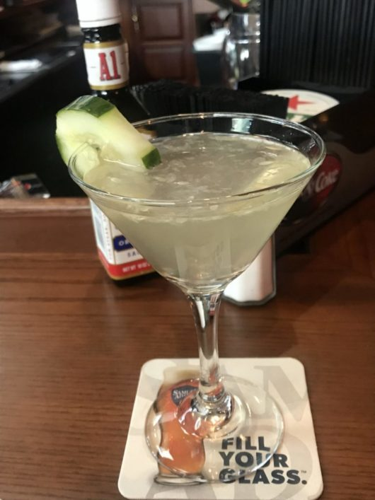 A Lady Walks into a Bar, Gabrielle Garofalo, Jersey Bites, Four Winds, cucumber cocktail