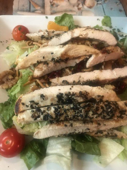 A Lady Walks into a Bar, Gabrielle Garofalo, Jersey Bites, Four Winds, sesame chicken salad