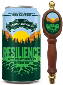 Resilience Butte County Proud IPA, Jersey Bites, Beer Bites, Camp Fire