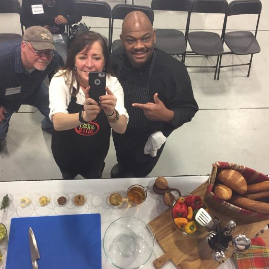 Chef Jesse Deborah Smith at the NJ Home Show