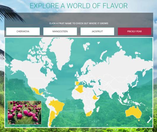 Altrus Flavor Map