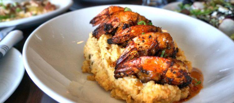 618s Cajun BBQ Shrimp & Grits, Freehold, 618 Restaurant, Jersey Bites, Susan Weiner