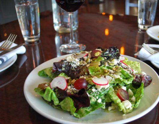 618s Little Gem Lettuce Salad, Freehold, 618 Restaurant, Jersey Bites, Susan Weiner