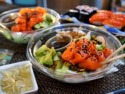 Alpine King Salmon Poke Bowl