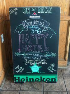 On the Deck Restaurant & Bar, Gabrielle Garofalo, A Lady Walks into a Bar, Jersey Bites, Atlantic Highlands, Monmouth County