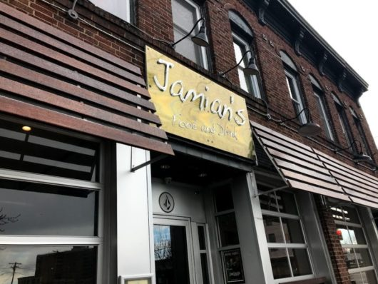 Jamian's exterior in Red Bank, Breweries, Brew Pubs, and Bars, Jersey Bites, Peter Culos, Beer Guy