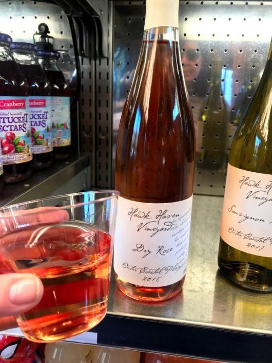Hawk Haven dry rosé wine