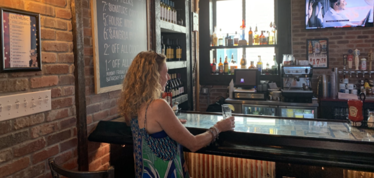 A Lady Walks into a Bar, Gabrielle Garofalo, Jersey Bites, Old Glory Kitchen + Bar, Keyport, Monmouth County