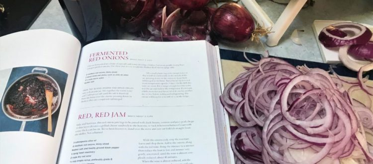 Onions Etcetera cookbook Red, Red Jam recipe, Onions Etcetera, Kate Winslow, Guy Ambrosino, Recipe, Jersey Bites