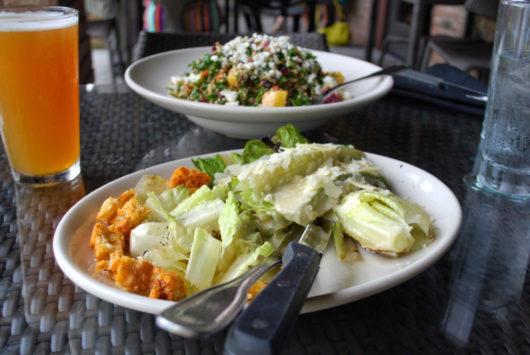 Salt Creek Grille's Caesar over Mesquite Salad
