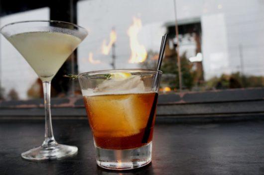 Tea Thyme Cocktail, autumn cocktails, Jersey Bites