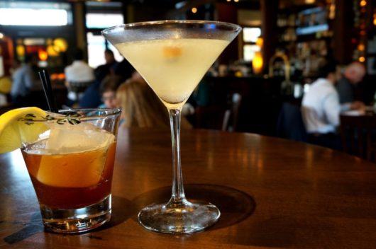 Cocktails at Salt Creek Grill Princeton, autumn cocktails, Jersey Bites