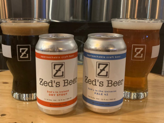 NJ brewery of the year Zed's Beer