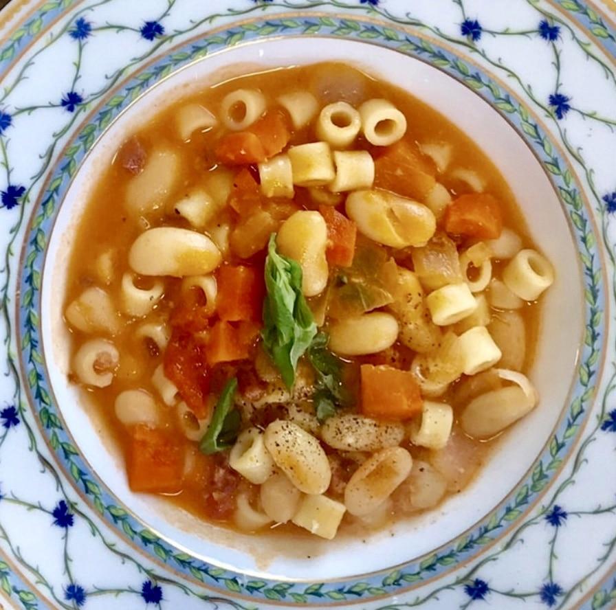 Grandmas Italian Pasta Fagioli Recipe, Julie Hartigan, Jersey Bites