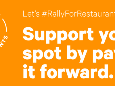 Toast Rally for Restaurants campaign