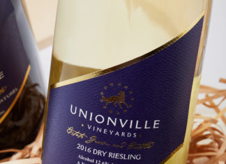 Unionville Vineyards Riesling Wine