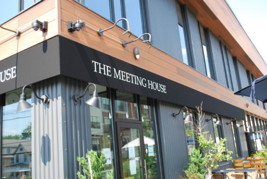 The Meeting House exterior sign