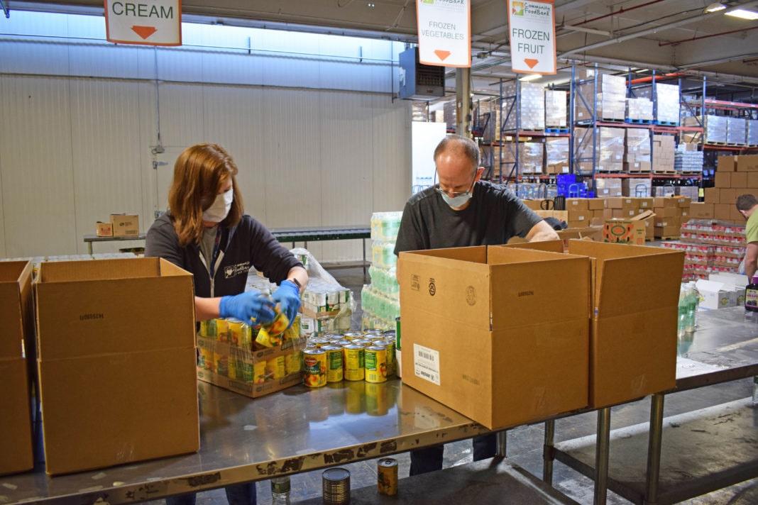 Community Foodbank of New Jersey volunteers