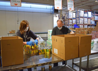 Community Foodbank of New Jersey volunteers