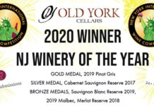 2020 NYIWC NJ Winery of The Year plus medals
