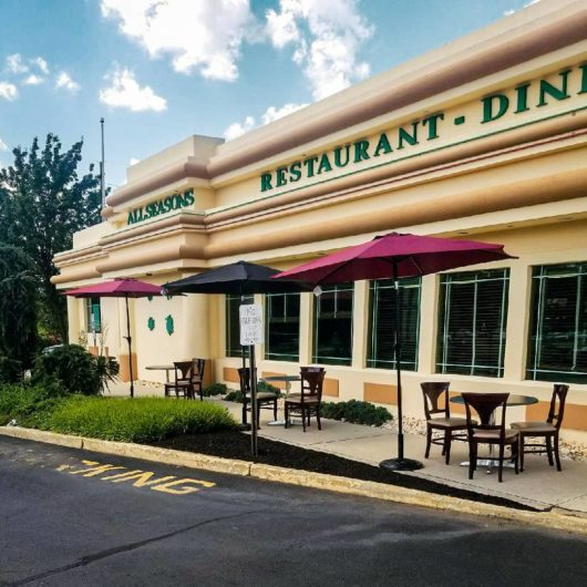 All Seasons Diner Eatontown exterior, Michael Gabriele, Thanksgiving, Jersey Bites