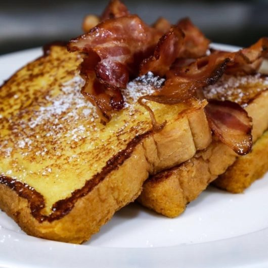 French toast at All Seasons Diner, Michael Gabriele, Thanksgiving, Jersey Bites