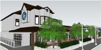 B2 Bistro + Bar Toms River exterior rendering