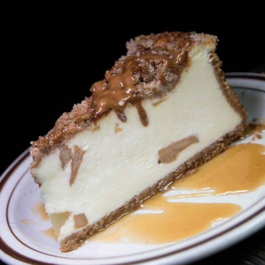 Mara's Caramel Apple Cheesecake