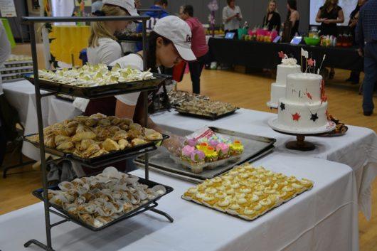 Food display from Taste of Spring in Rahway