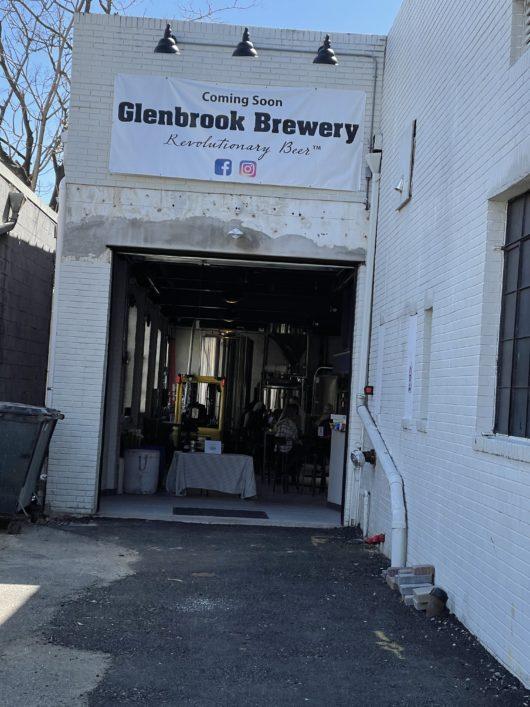 Glenbrook brewery entrance