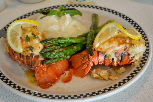 Lobster Tails at Broad Street Diner
