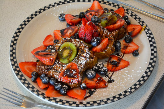 Challah French Toast at Broad Street Diner