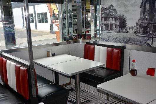 Broad Street Diner interior