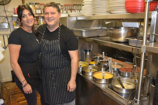 Owners Maria and Nick Kallas