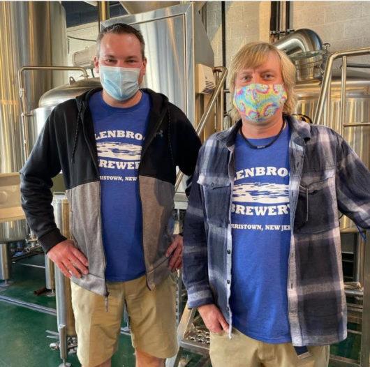 Brewer Heath Travers with partner Darren Cregan